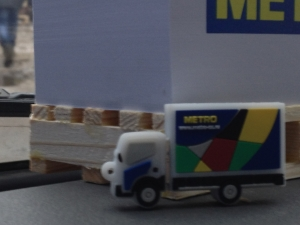 Подарки от METRO. Матадор Грузовое Такси.