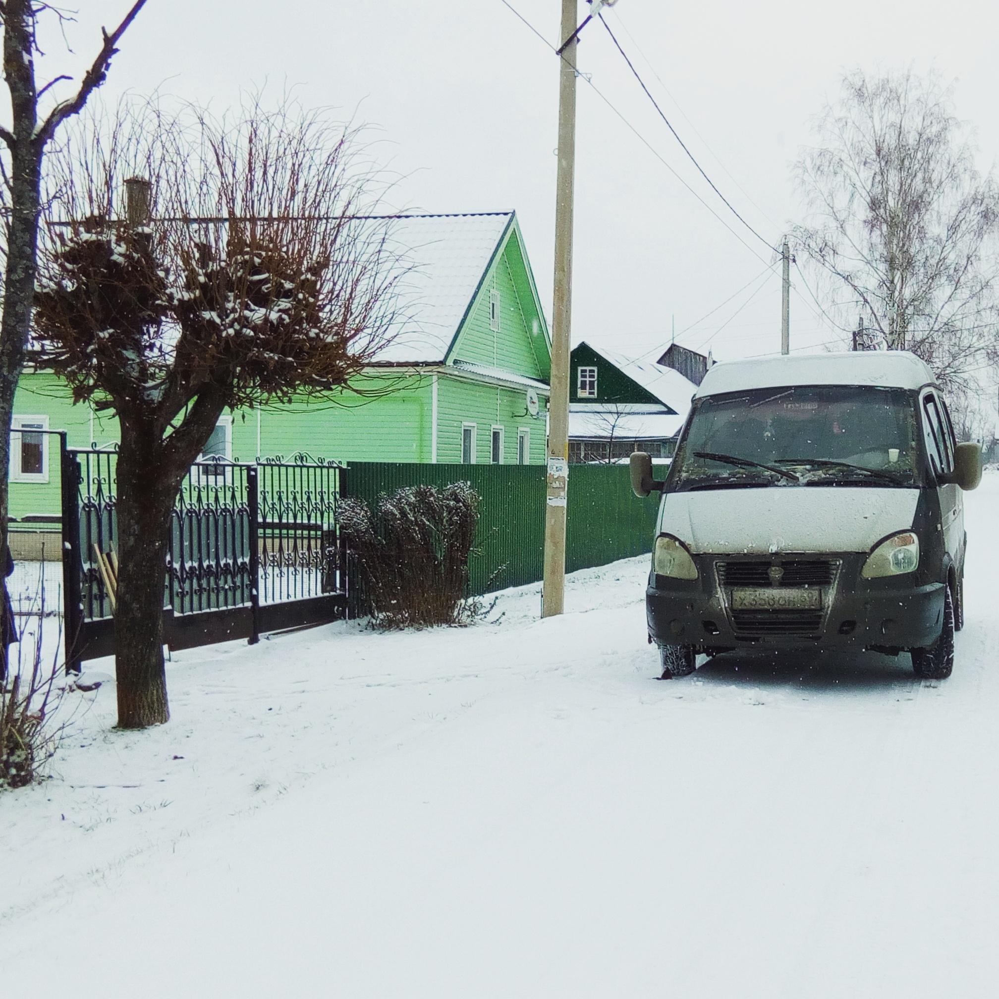 Переезд из Москвы на дачу