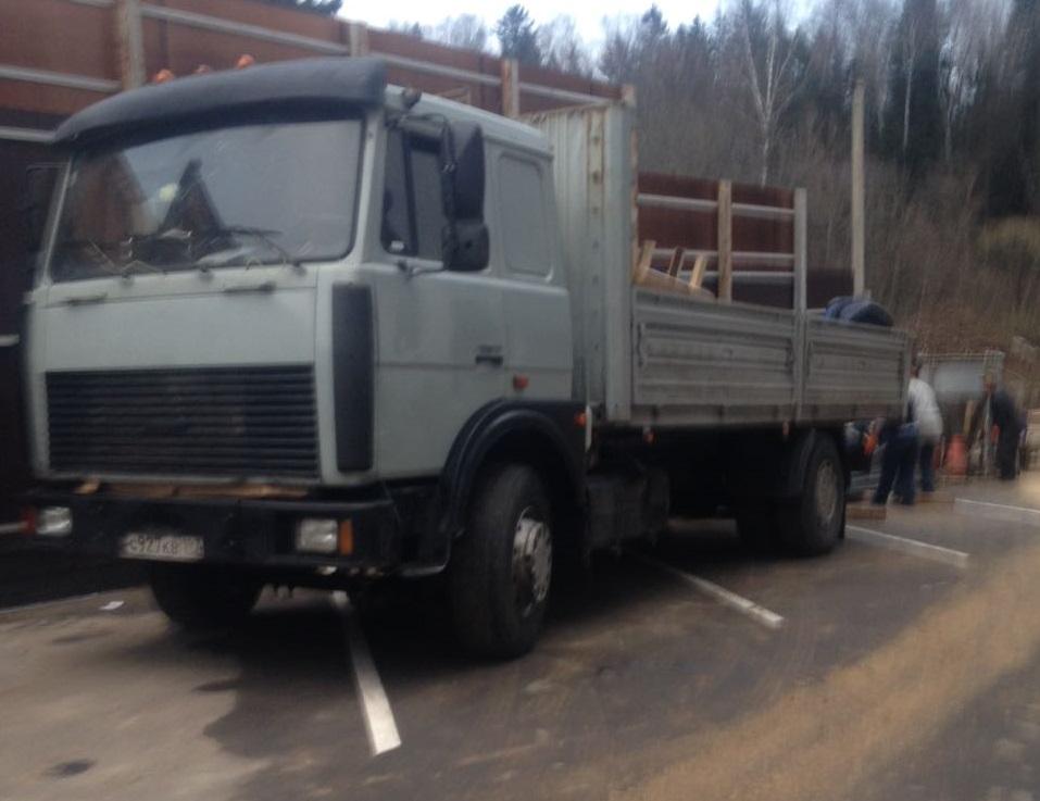 Заказать Маз борт 10 тонн из  Москвы в Краснодар