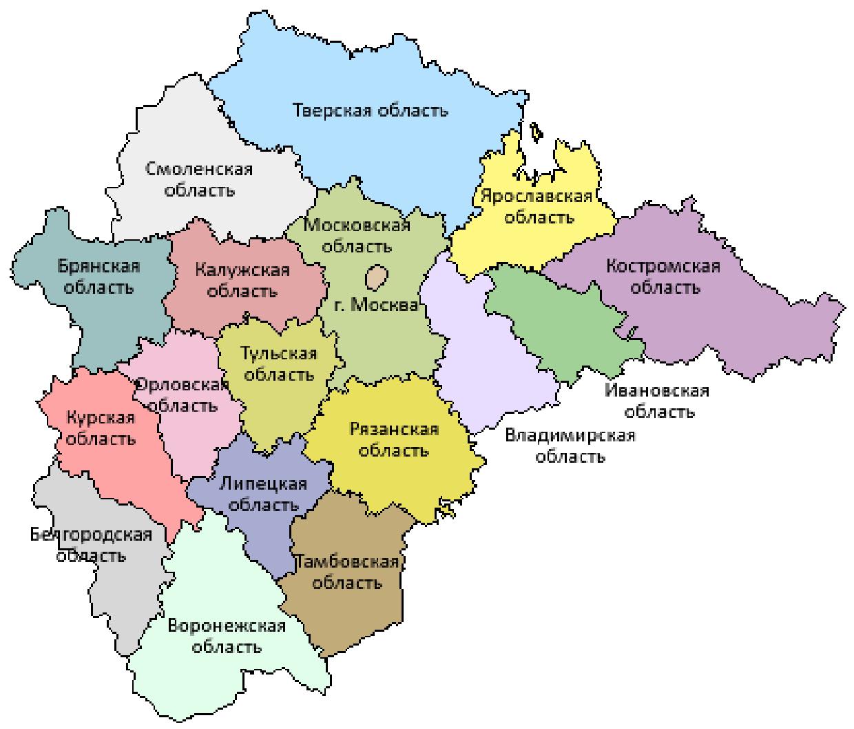 Грузоперевозки из Москвы в область