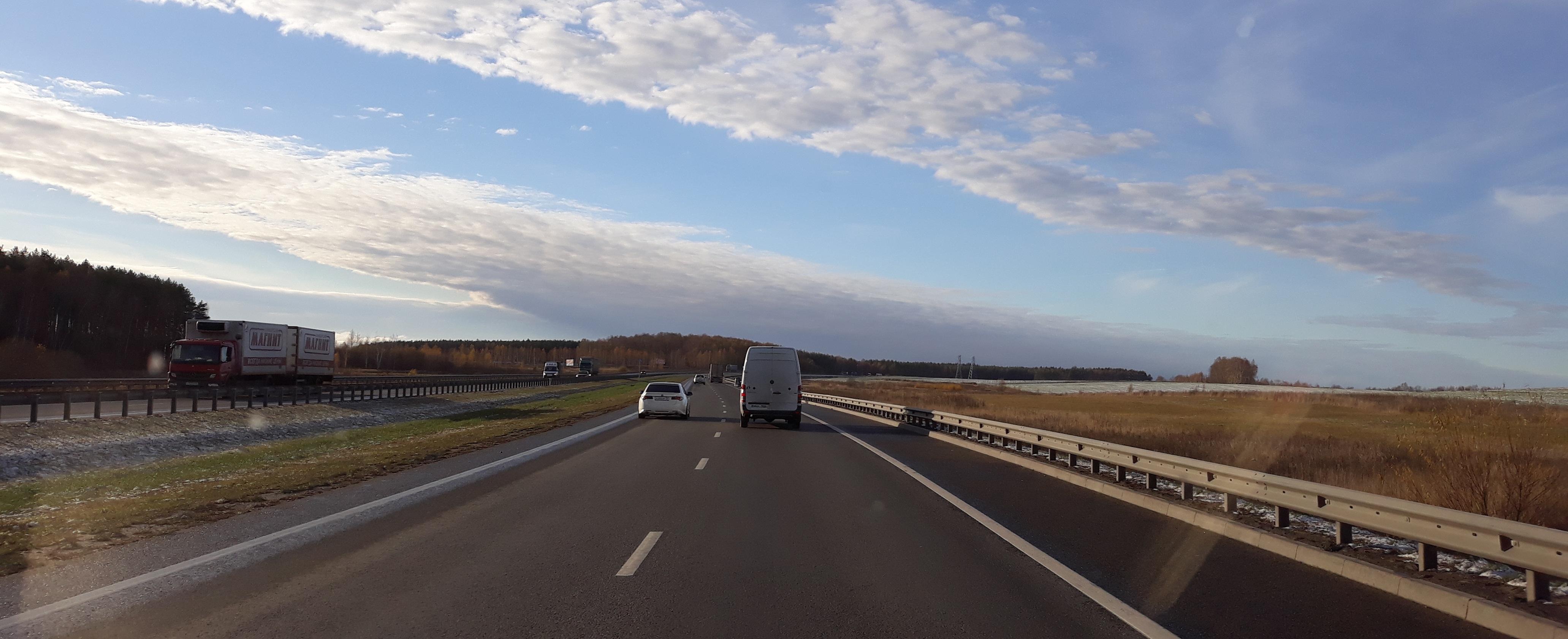 Грузоперевозки из Москвы в область Рязанское шоссе