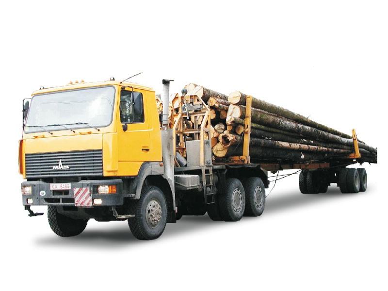 Виды грузовых автомобилей Лесовозы