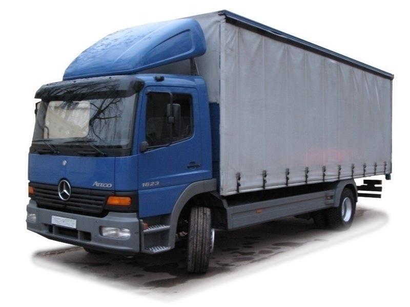 Грузоперевозки 10 тонн из Москвы в Анапу