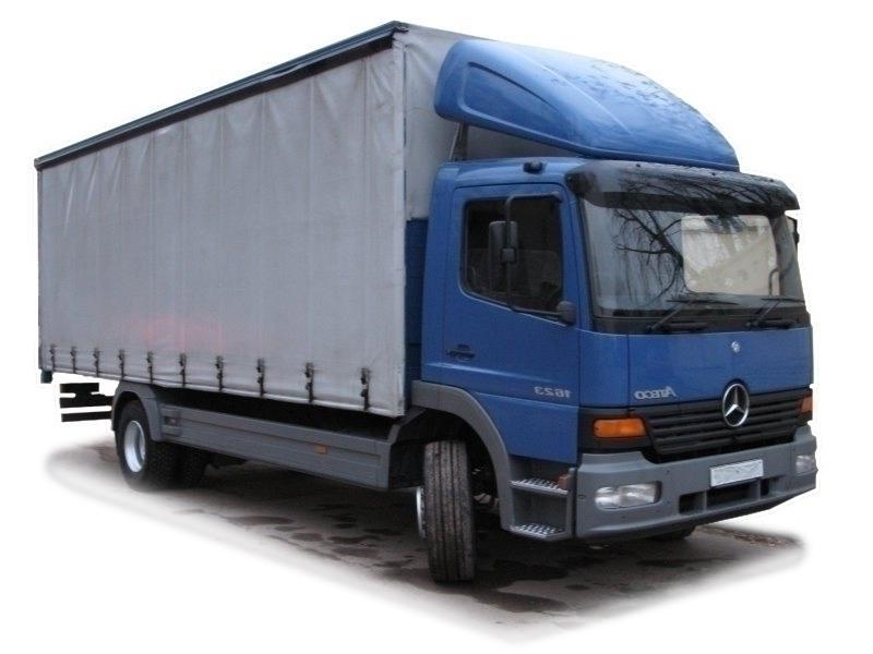 Грузоперевозки 10 тонн из Москвы в Пущино