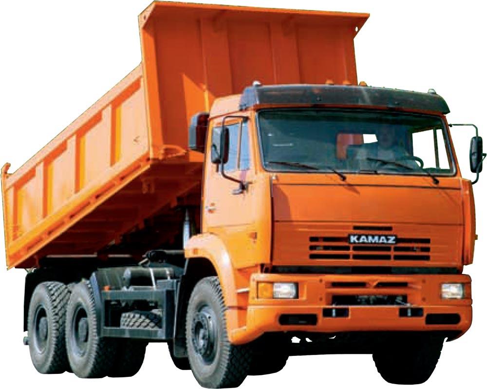 Виды грузовых автомобилей самосвал