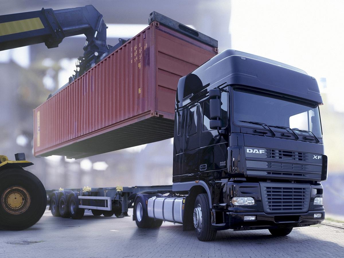 Виды грузовых автомобилей контейнеровозы