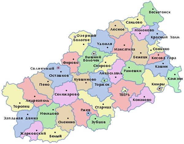Грузоперевозки в Тверской области