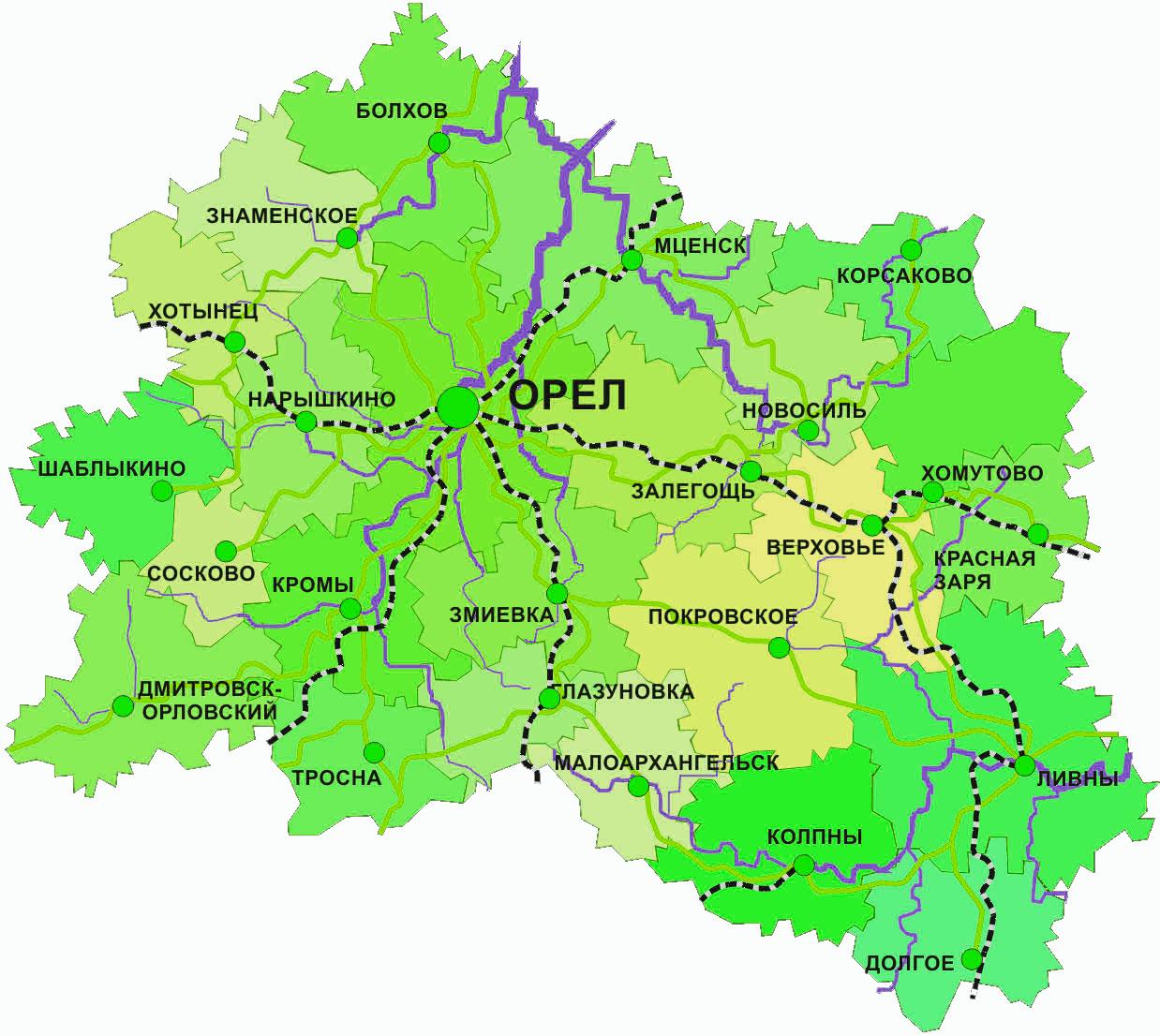 Грузоперевозки Орловская область
