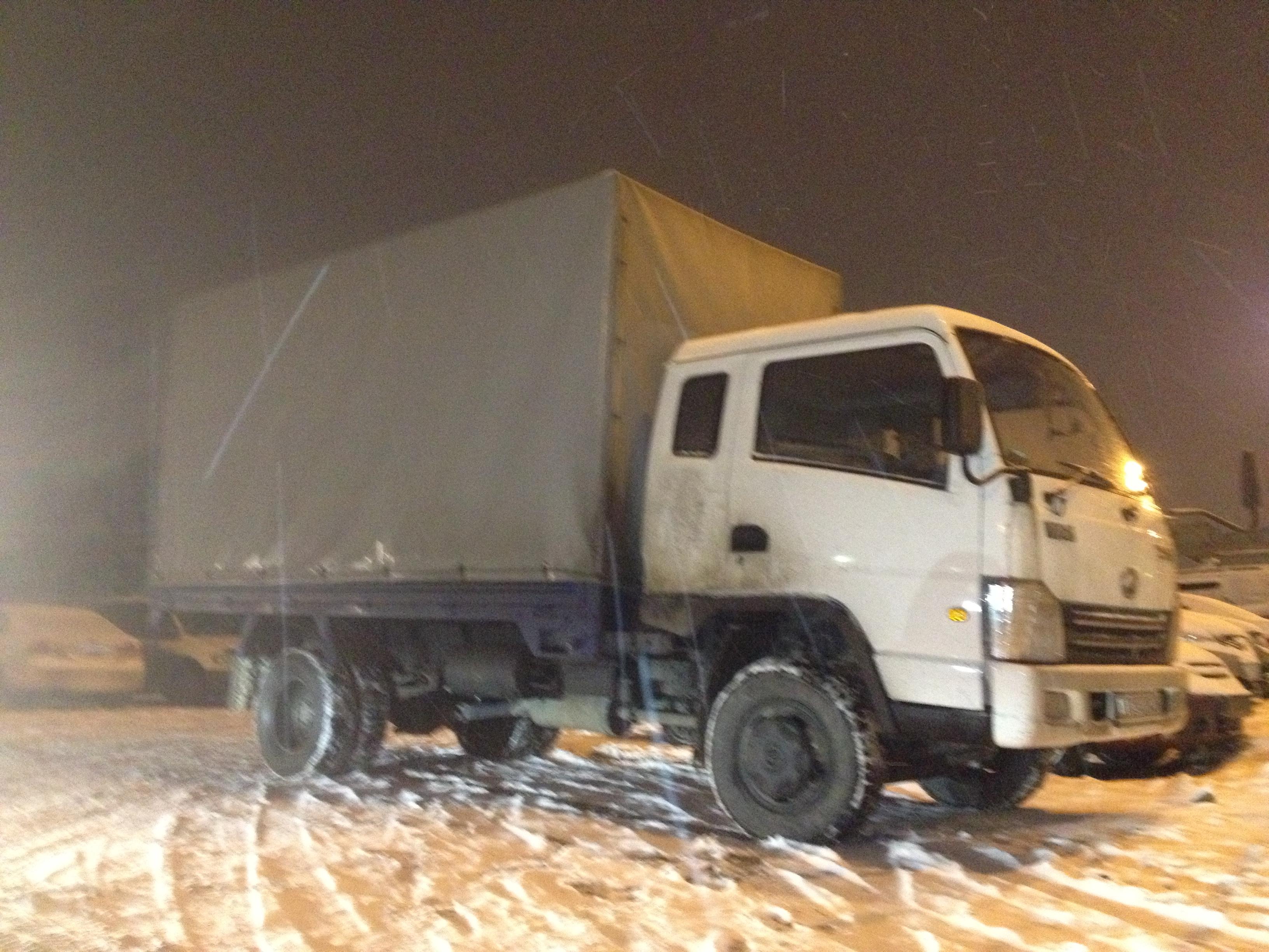Грузоперевозки по России 2,5 тонны